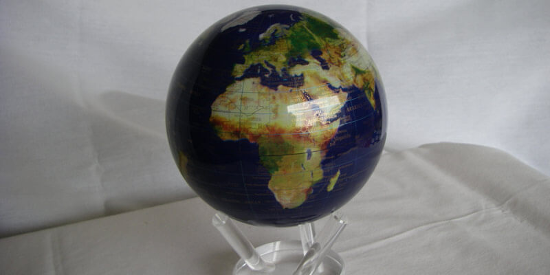 Dark Colored Mova Globe