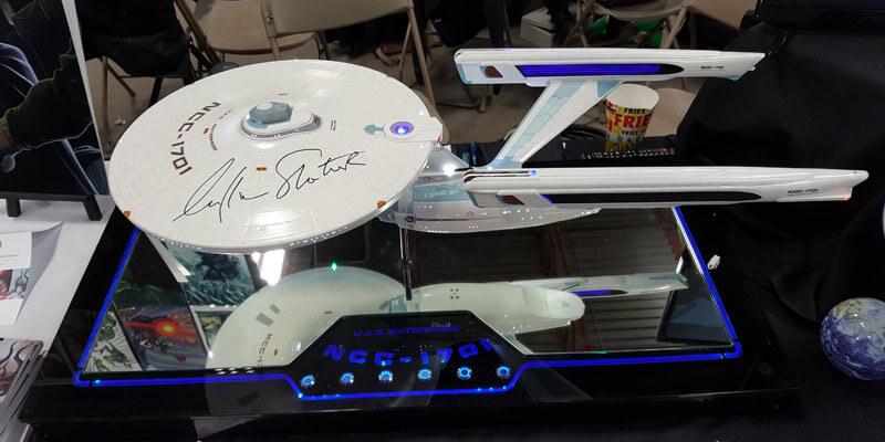 Finished Starship Enterprise Model