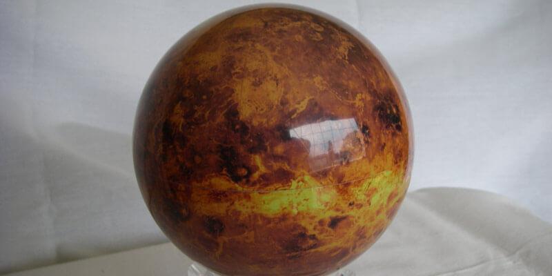 Red Planet Mova Globe