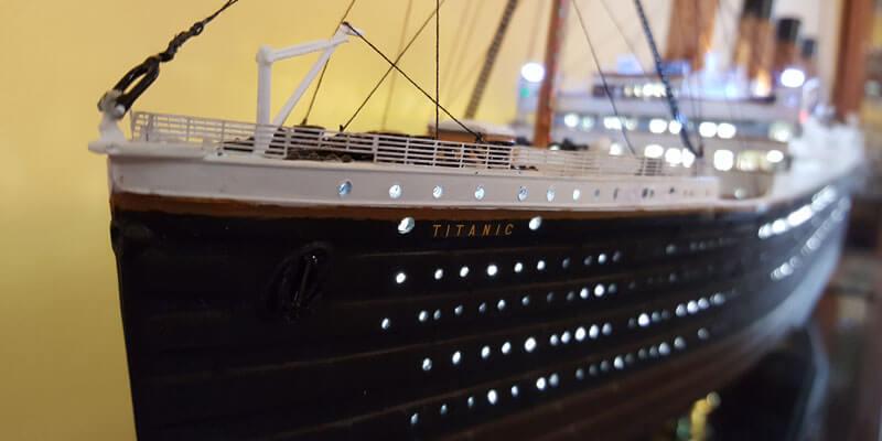 Titanic Model front